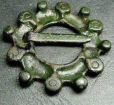 Ancient Bronze. Viking FIBULA. (8.7)