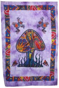 Sychedelic Mushroom Tapestry Forest Wall Décor Tapestries(POSTER(77X102CM)) 06