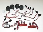 YY-MADMAX LOSI 5IVE-T (5T) FRONT/REAR L.E.D. LIGHT SET ALUMINUM RED BRIGHT WHITE