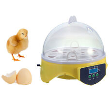 7 Eggs Mini Digital Egg Incubator Poultry Hatcher Chicken Goose 110v