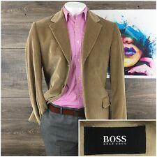 5670b0e36 HUGO BOSS Bronson Tan Brown Corduroy 3 Btn Sport Coat Blazer Men's Sz 42R