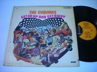 The Esquires Get on Up and Get Away 1967 Stereo LP VG+