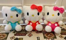 """Hello Kitty  Cute Plush Doll Gift 8"""" Soft"""