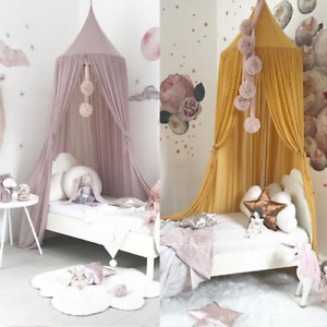 Princess Lace Kids Baby Bedroom Canopy Mosquito Nets Curtains Bedding Dome Tents