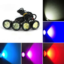 12V 6W LED Eagle Eye Light Daytime Running DRL Light Car Motor Lamp Ranom Color