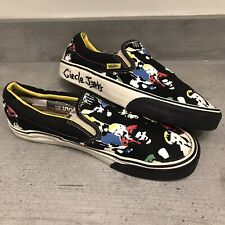 VANS X CIRCLE JERKS Authentic Slip on Shoes Size 8.5 EUR 42 Japanese 26.5cm Used