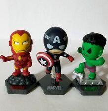 Marvel Super Heroes Grab Zags Avengers Iron Man, Captain America, Hulk Figure
