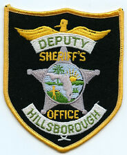 "Hillsborough Florida Sheriff's Office Deputy 4.5"" Patch Law Enforcement Officer"