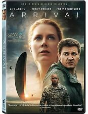 ARRIVAL (DVD) con Amy Adams; Jeremy Renner; Forest Whitaker