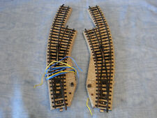 06 Märklin Metallgleis elektrisches Bogenweichenpaar 5140, geprüft