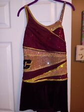 used baton twirling costume-Kennerly custom made!
