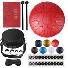 12'' Steel  11 Notes Tongue Drum Major  Handpan Hand Tankdrum +Bag + Mallets