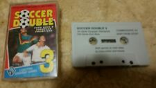 Soccer Double 3 Video Game Cassette Commodore 64 C64/C128 💜💜💜 FREE POST