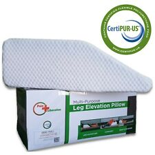 Leg Elevation Wedge Pillow for Knee, Leg, Ankle, Hip, Back Pain  & Acid Reflux