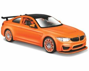 BMW M4 GTS in Tangerine (1:24 scale by Maisto 31246)