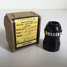 Dallmeyer Dallcoated 6.5mm f2.5 D Mount Lens