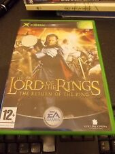MICROSOFT LORD OF THE RINGS THE RETURN OF THE KING XBOX