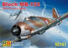 RS Modèle 1/72 Marcel-Bloch MB.152 Bataille de France 1940 # 92161