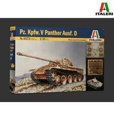 Italeri 6473 PzKpfw V Panther Ausf D 1/35 scale model kit
