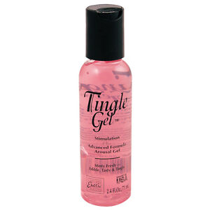 1 TINGLE GEL personal lubricant stimulation arousal cream oil anal