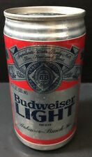 Vintage FIRST EDITION Budweiser Light Can Packaged 4/13/81 No Pull Tab Very Good
