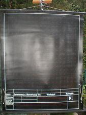 Schulwandbild Wandbild abwaschbar Schiefertuchtafel Technisches Zeichnen 104x126