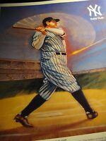 Babe Ruth The Bambino New York Yankees Promo Photo Issued thru Citgo New