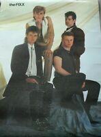 The Fixx Rock Band 1983 Original Vintage Poster Artemis New Age Rock English 80