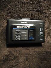 Sanyo Mgr79 Stereo Radio Cassette Player BassXpander