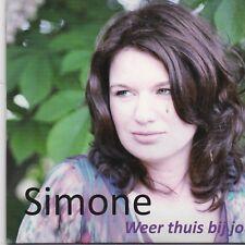 Simone-Weer Thuis Bij Jou cd single