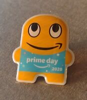 AMAZON Employee Peccy Prime Day Week 2020 Soft Enamel Collectors Pin