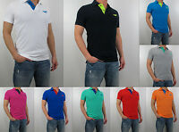 NWT HOLLISTER Men Muscle Fit Paradise Cove Shell Beach Polo Shirt By Abercrombie