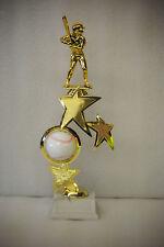 "13"" Baseball, Softball, T-Ball Spinning Ball Riser Trophy - Free Engraving"