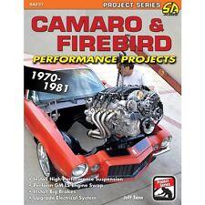 CAMARO & FIREBIRD PERFORMANCE PROJECTS: 1970-81