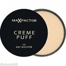 MAX FACTOR creme puff all in one pressed powder makeup refill in gay whisper 59