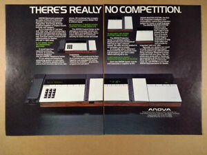 1982 ANOVA Master System Telephone Home Control & Protection vintage print Ad