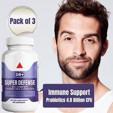 Emergency Immune Support - Elderberry, Zinc, Vitamin C w/ Probiotics, 3-Pack