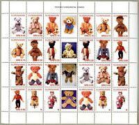 Surinam 2005 Teddybären II Teddy Bears Toys 1977-1988 Kleinbogen MNH