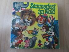 Pixi Buch - Sommerfest im Wald - Nr. 122 - 1974