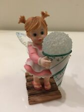 Enesco My Little Kitchen Fairies 2007 Sno Cone Fairie Figurine