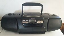 1996  Sony CFD-222 Radio, CD & Cassette Recorder/Player.