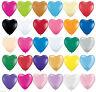 100 LOVE HEART SHAPE BALLOONS*Wedding Party Romantic ballon Birthday heart shape