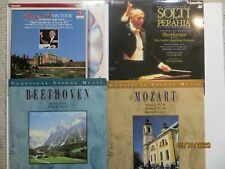 Lot of 4 Laserdisc Beethoven & Mozart