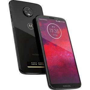(Refurbished) Motorola Moto Z3 Play Android 4G Smartphone Mobile GSM Unlocked