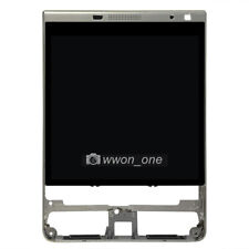 BlackBerry Passport Silver Edition SQW100-4 LCD Touch Digitizer Assembly+Frame