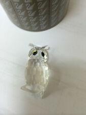 swarovski civetta 7636 mib retired night owl mib retired 206138 crystal nuovo