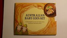 1993 AUSTRALIA'S BABY COIN SET,INCORRECT ART WORK.
