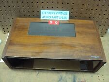 Technics Receiver SA-80 Wood Case & Back Panel. Out Of 10 Parting Entire SA-80.