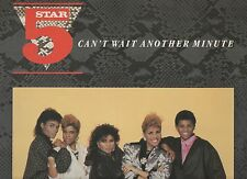 Five Star Can't Wait Another Minute 1986 Vinyl LP Limited Edition Remixes