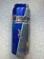 """Russia. Energy drink can empty 0,5 liter """" Adrenaline Rush """".  0,0% alcohol."""